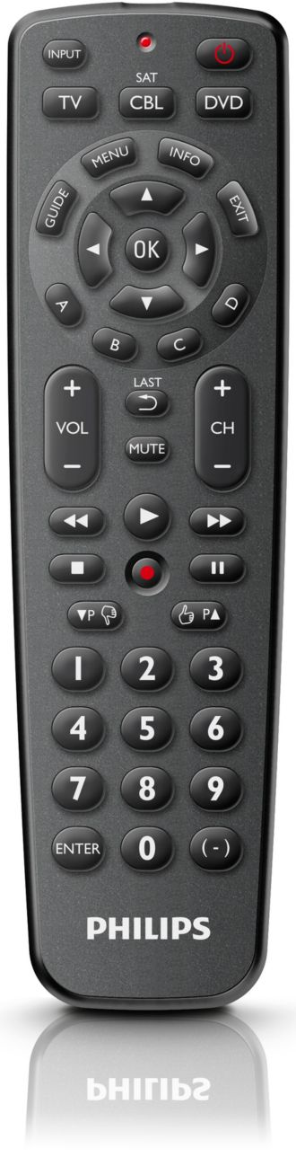 Philips  Universal remote control 3 in 1 SRP1103/27