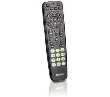 How to set up philips universal remote