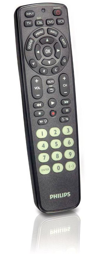 Philips  Universal remote control 4in1 TV/VCR/DVD/SAT SRP2104/27
