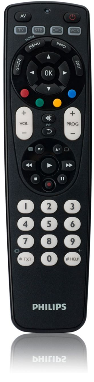 Philips  Universal remote control 4 in 1 SRP4004/27