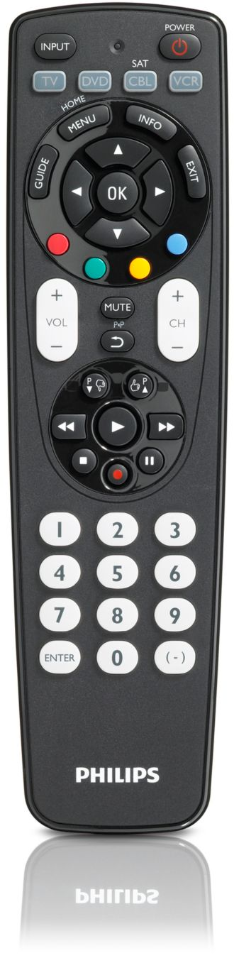 Philips  Control remoto universal 4 en 1 SRP4004/55