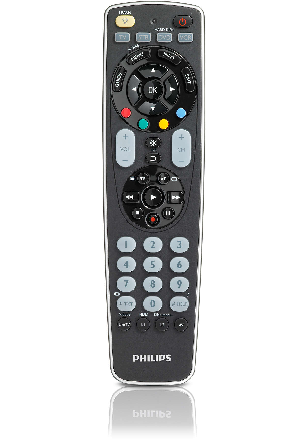 Perfect Replacement Telecomando Universale Srp5004 87 Philips