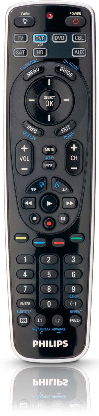 Philips  Universal remote control 7 in 1 SRP5107WM/17