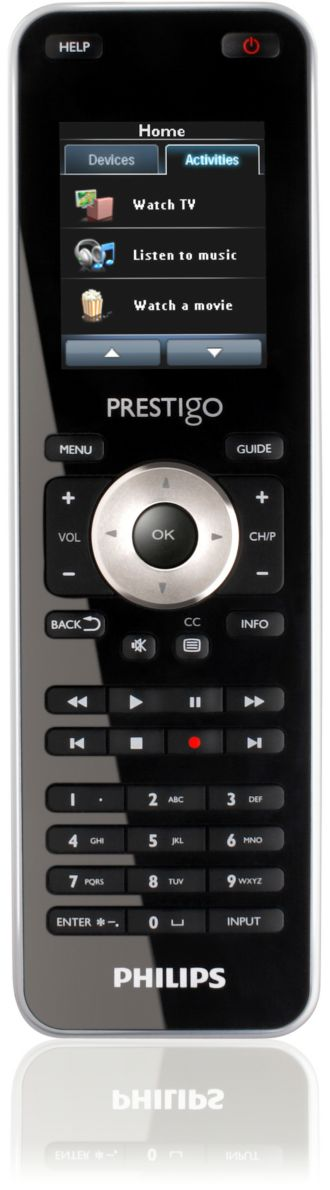 Philips  Universal remote control Touch 15 in 1 SRT8215/17