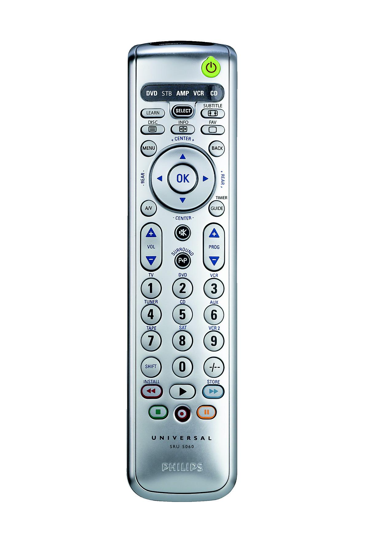 Acquista philips telecomando universale sru5060 87 for Philips telecomando