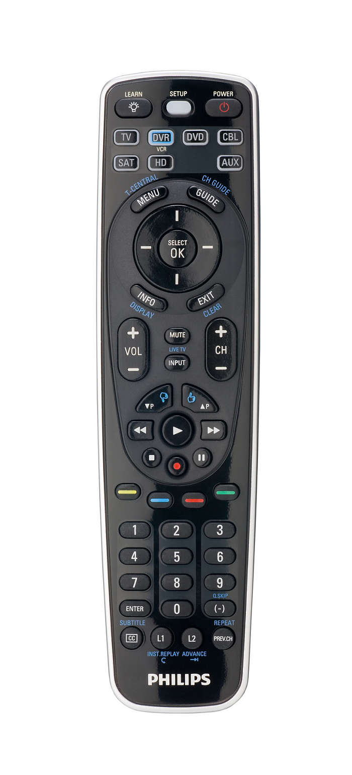 Perfect Replacement Universal Remote Control Sru5107wm 17