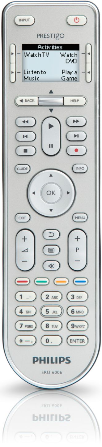 Philips  Universal remote control 6 in 1 SRU6006/27