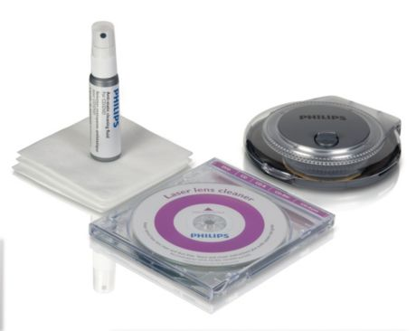 CD/DVD discs and players cleaning kit