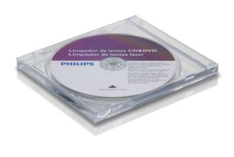 Philips  Limpiador de lentes CD y DVD SVC2330/55