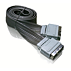 Flat scart cable