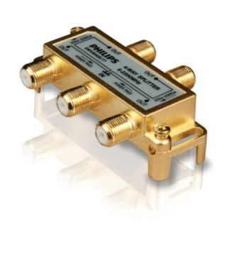 Philips  Splitter 4-Way SWV3040H/17