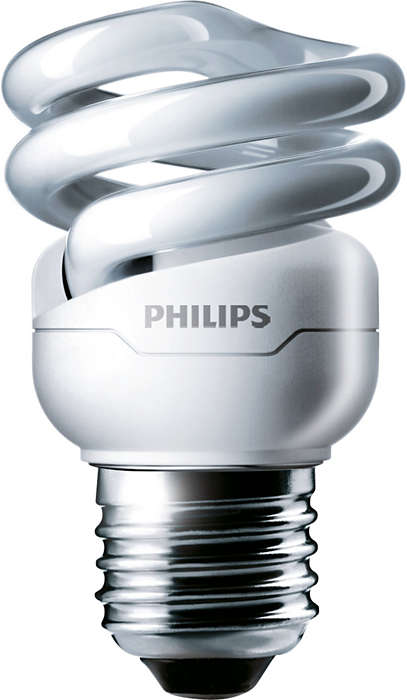 Energy-saving lamp in a decorative spiral shape with extra long life
