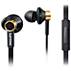 In ear headphones with mic