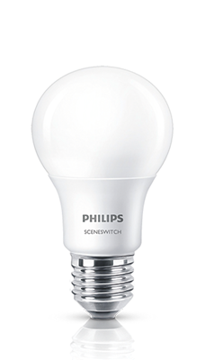 Sceneswitch led lampen philips lighting for Lampen philips