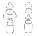 Assembling spout cup