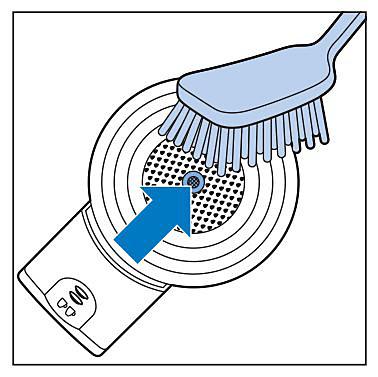 Clean the SENSEO pod holder