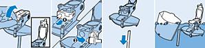 instructies voor schoonmaken van het melkreservoir