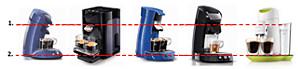 Where is your SENSEO coffee machine leaking?