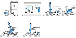 De Philips HD7753 Grind & Brew-koffiezetter schoonmaken