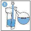 Vul het SENSEO Up-waterreservoir