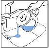 Emptying jug