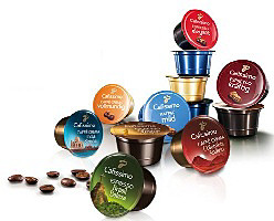 Dostępne kapsułki z kawą Tchibo