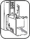 установка контейнера для использованных капсул