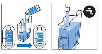 Prepare remoção de impurezas da SENSEO Quadrante