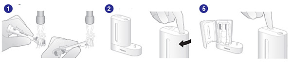 How to use Philips Sonicare UV sanitiser