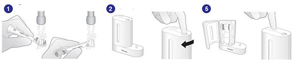 Cómo utilizar el higienizador por rayos UV Philips Sonicare
