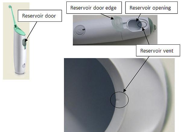 Limpieza de la salida de ventilación del depósito