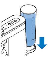 het waterreservoir op de SENSEO Switch HD7892 plaatsen