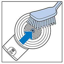 senseo switch de padhouder schoonmaken