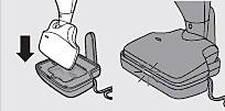 Подключение пылесоса к зарядному устройству