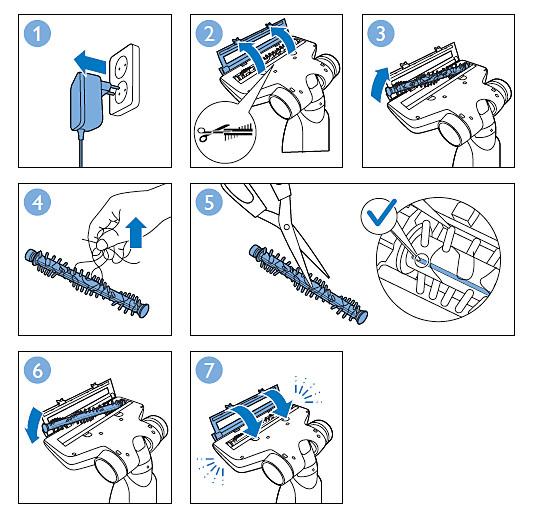 Anweisungen zur Reinigung