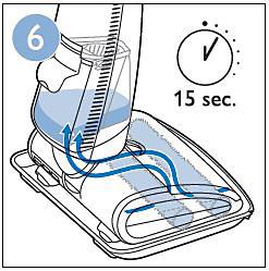 Limpieza del aparato antes de usarlo