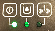 LED verde del AquaTrio Pro