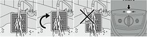 Filtro de exaustão do aspirador de pó Philips