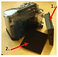Фильтр HEPA и губчатый фильтр
