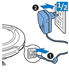 Lade direkte fra strømnettet
