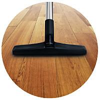 Hard floor nozzle