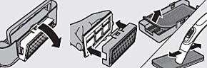 Instructies voor het schoonmaken van het uitblaasfilter