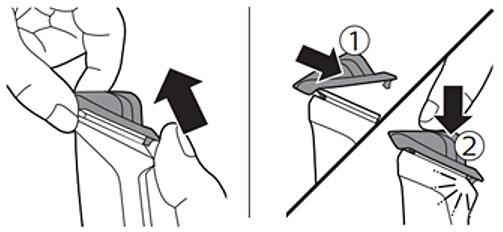 Peine-guía de fácil montaje