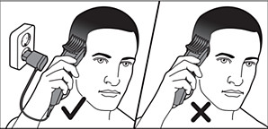 Use Philips hair clipper connected