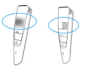 Air slots Philips Beard Trimmer