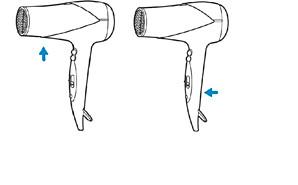 Numery modeli suszarek do włosów Philips