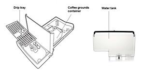 Philipsi espressomasina osad