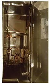grains dans le réservoir d'eau