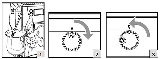 avvio della procedura di rimozione del calcare