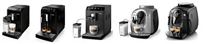 Pictures of coffee machine models